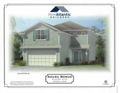 Atlantic Beach Single Family Home Contingent Take Backup: 2182 Fairway Villas Dr