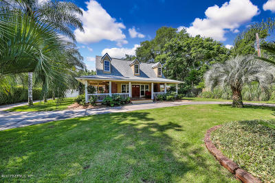 Jacksonville Single Family Home For Sale: 4514 Julington Creek Rd