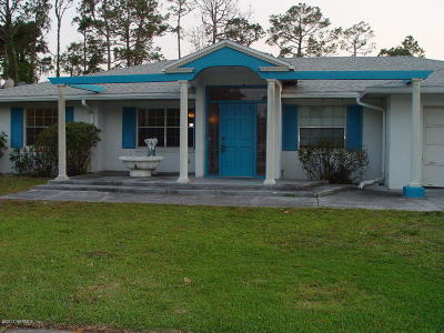 St Augustine Single Family Home For Sale: 455 Linda Ct
