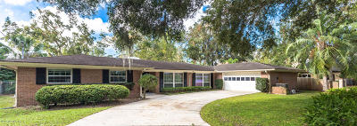 Jacksonville Single Family Home For Sale: 910 Oriental Gardens Rd