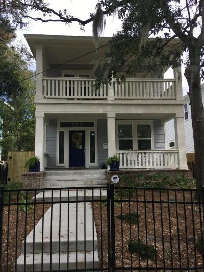 Jacksonville Single Family Home For Sale: 1241 Walnut St