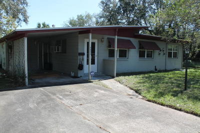 Jacksonville Single Family Home For Sale: 4603 Morley Ln