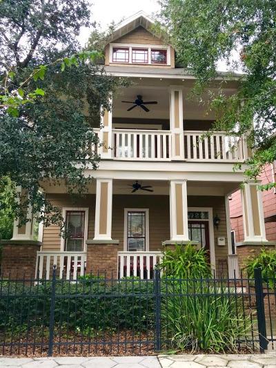 Jacksonville Single Family Home For Sale: 1922 North Market St