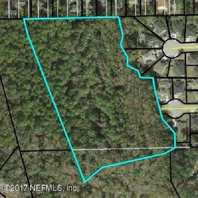 St. Johns County Residential Lots & Land For Sale: Woodlawn Rd West
