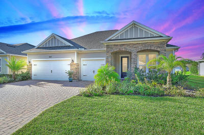St Augustine Single Family Home For Sale: 104 St Kitts Loop
