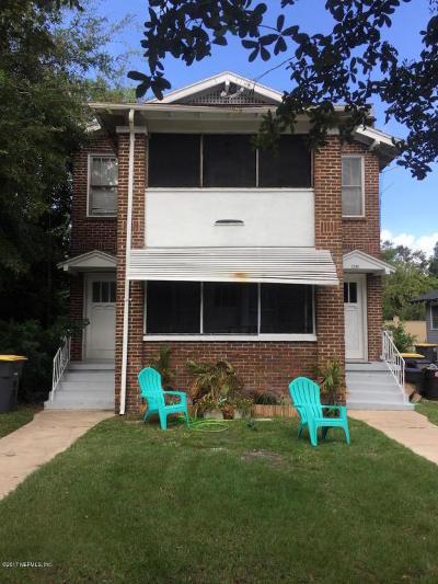 Jacksonville Multi Family Home For Sale: 2343 Gilmore St