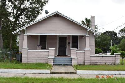 Jacksonville FL Single Family Home For Sale: $46,000