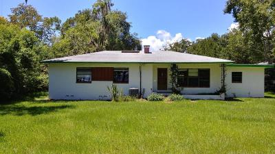 Fleming Island Single Family Home For Sale: 3627 Westover Rd