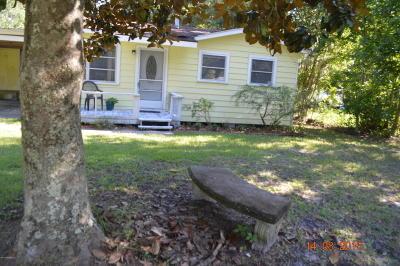 Jacksonville Single Family Home For Sale: 7096 Park City Dr