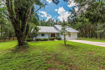 St Augustine Single Family Home For Sale: 6695 State Road 16