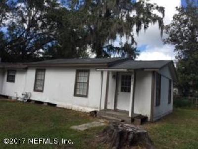 Starke Single Family Home For Sale: 421 Polk St