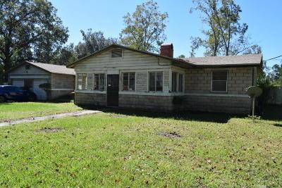 Jacksonville FL Single Family Home For Sale: $284,900