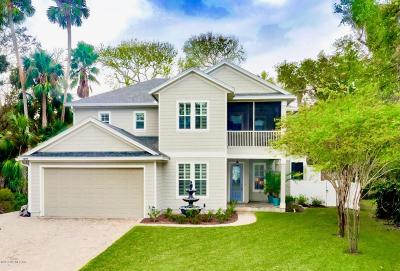 Atlantic Beach, Jacksonville Bc, Neptune Beach, Crescent Beach, Ponte Vedra Bch, St Augustine Bc Single Family Home For Sale: 1874 Tierra Verde Dr