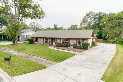 Jacksonville Single Family Home For Sale: 8619 Mahonia Dr