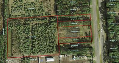 St Augustine Residential Lots & Land For Sale: 7717 Us Highway 1 S
