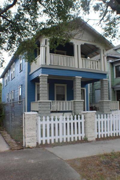 Jacksonville Single Family Home For Sale: 1814 Hubbard St