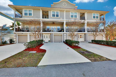 Jacksonville Beach Townhouse For Sale: 206 21st Ave S