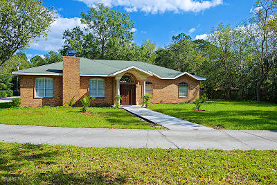 Fleming Island Single Family Home For Sale: 4565 Pine Ave