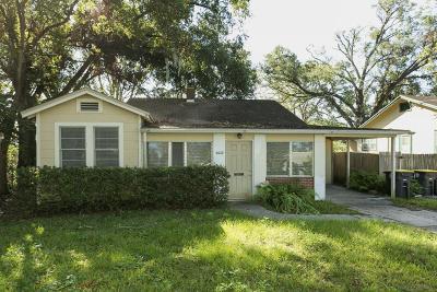 Jacksonville Single Family Home For Sale: 4632 Appleton Ave