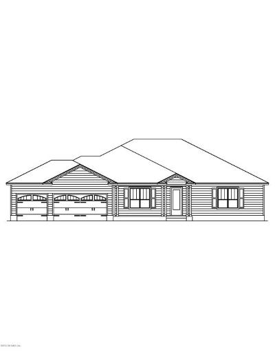 St Augustine Single Family Home For Sale: 1561 Cr 13 S #LOT 4