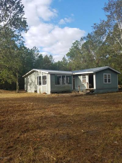 St Augustine FL Single Family Home For Sale: $109,900