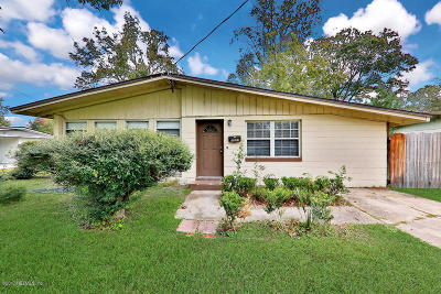 Jacksonville Single Family Home For Sale: 3823 Anvers Blvd