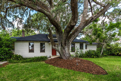 St Augustine Single Family Home For Sale: 152 Marine St