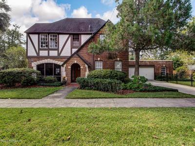 Jacksonville FL Single Family Home For Sale: $549,000