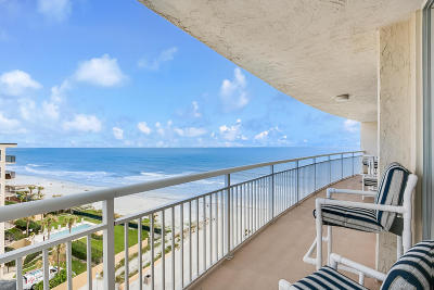 Jacksonville Beach Condo For Sale: 1601 Ocean Dr #701