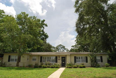 Jacksonville Single Family Home For Sale: 4278 Rapallo Rd