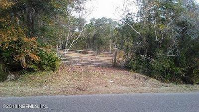 Jacksonville Residential Lots & Land For Sale: Shellcracker Rd
