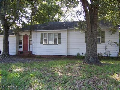 Duval County Single Family Home First Right Of Refusal: 3378 Sheridan Rd