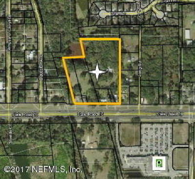 St Augustine, St Augustine Beach Residential Lots & Land For Sale: 990 State Road 16