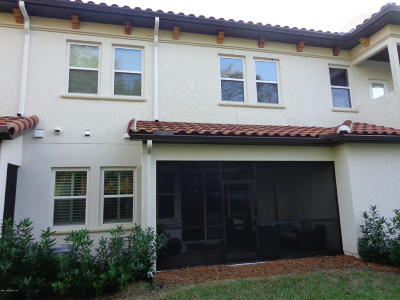 Jacksonville Townhouse For Sale: 13307 Santorini Dr