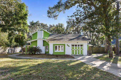 Jacksonville Single Family Home For Sale: 7216 Oakwood Dr