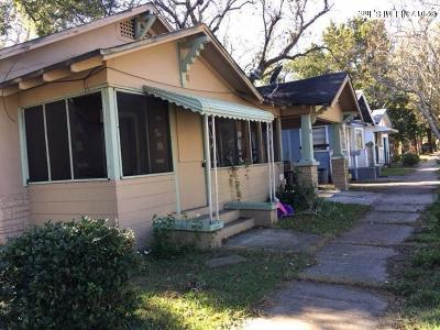 Jacksonville Multi Family Home For Sale: 1540 W 23rd St