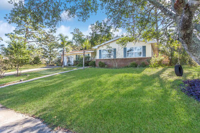 St Augustine Single Family Home For Sale: 185 Shores Blvd