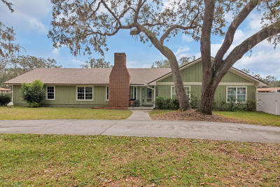 St. Johns County Single Family Home For Sale: 1256 Tangerine Dr