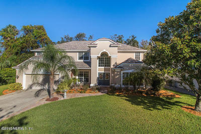 Ponte Vedra Beach FL Single Family Home Contingent Take Backup: $579,000