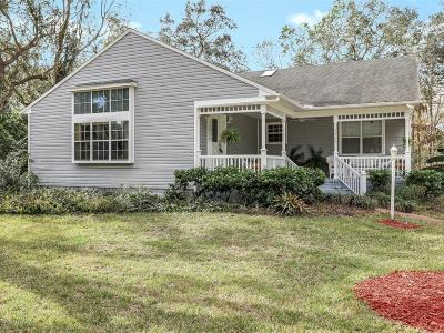 St Augustine Single Family Home For Sale: 3225 Turtle Creek Rd