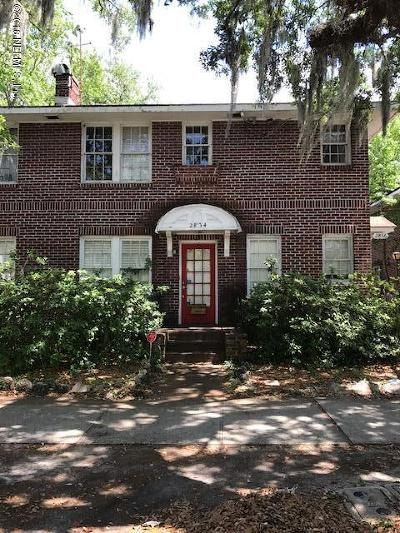 Jacksonville Multi Family Home For Sale: 2834 Park St