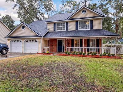 Fleming Island Single Family Home For Sale: 586 Hibernia Oaks Dr