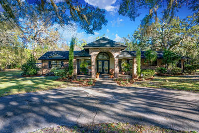 Jacksonville Single Family Home For Sale: 16101 Butch Baine Dr