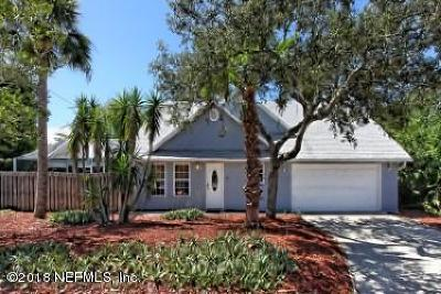 St Augustine Single Family Home For Sale: 61 Orange Ave