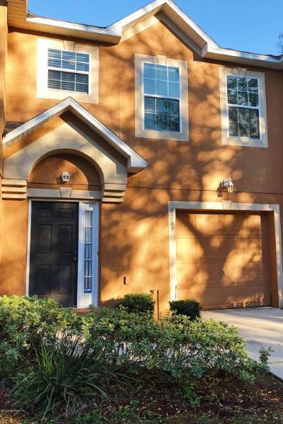 Jacksonville Townhouse For Sale: 8269 Halls Hammock Ct