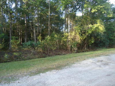 St Augustine Residential Lots & Land For Sale: 3201 Raulerson Rd E