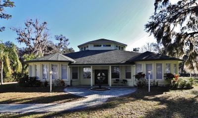 St Augustine Single Family Home For Sale: 10530 County Road 13 N