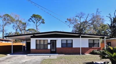 Jacksonville FL Single Family Home For Sale: $120,000
