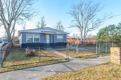 Jacksonville FL Single Family Home For Sale: $75,000