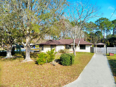 St Augustine Single Family Home For Sale: 3710 Arrowhead Dr